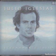 CDs de Música: JULIO IGLESIAS 4 CD'S ETERNAMENTE JULIO 2002 60 CANCIONES. Lote 145908734