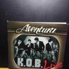 CDs de Música: DOBLE CD + CD VIDEO DEL GRUPO AVENTURA : K.O.B. LIVE ( LOS REYES DE LA BACHATA MODERNA ). Lote 145908786