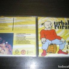 CDs de Música: URBALIA RURANA, ROM I CAFÉ, FOLK ROCK VALENCIANO. Lote 145922322