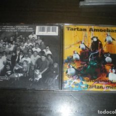 CDs de Música: TARTAN AMOEBAS, IMAGINARY TARTAN MENAGERY, FOLK ROCK CELTA. Lote 145923582