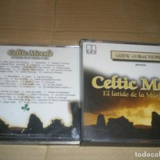 CDs de Música: CELTIC MOODS, 3 CDS, FOLK CELTA. Lote 145926262