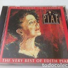 CDs de Música: CD - THE VOICE OF THE SPARROW - EDITH PIAF. Lote 145931570
