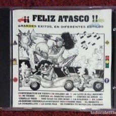 CDs de Música: FELIZ ATASCO!! (LOS MARTINEZ, MONCHO, LOLITA, JUNCO, ZAPATO VELOZ, MANOLO ESCOBAR...) CD 1994 * RARO. Lote 145932466