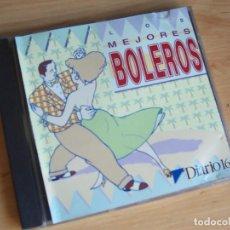 CDs de Música: LOS MEJORES BOLEROS, GRABADO EN DIRECTO POR BOLEROS BENGALIES 1993. Lote 145945066