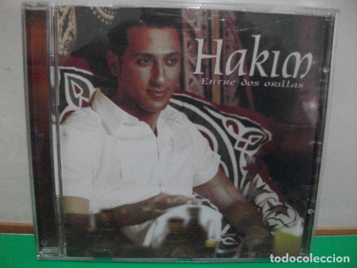 HAKIM - ENTRE DOS ORILLAS CD ALBUM 2001 PEPETO (Música - CD's Flamenco, Canción española y Cuplé)