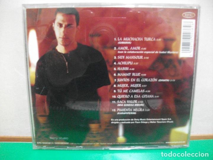 CDs de Música: HAKIM - ENTRE DOS ORILLAS CD ALBUM 2001 PEPETO - Foto 2 - 145960790