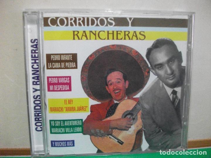 CORRIDOS Y RANCHERAS CD ALBUM PEDRO INFANTE , PEDRO VARGAS ....CD ALBUM NUEVO¡¡ (Música - CD's Latina)