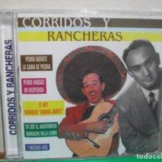 CDs de Música: CORRIDOS Y RANCHERAS CD ALBUM PEDRO INFANTE , PEDRO VARGAS ....CD ALBUM NUEVO¡¡. Lote 145965466