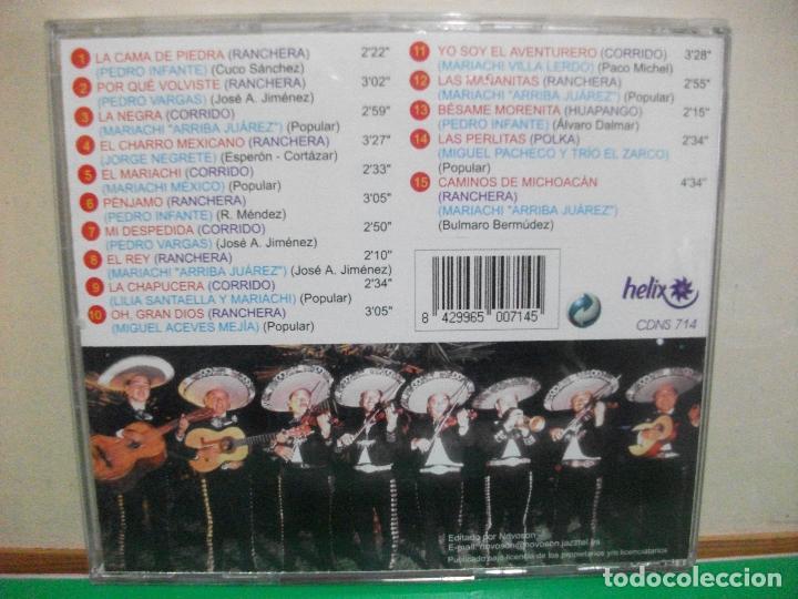 CDs de Música: CORRIDOS Y RANCHERAS CD ALBUM PEDRO INFANTE , PEDRO VARGAS ....CD ALBUM NUEVO¡¡ - Foto 2 - 145965466