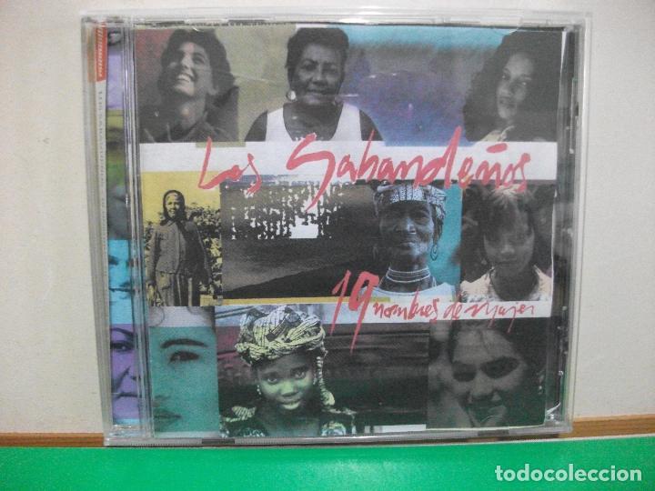 LOS SABANDEÑOS - 19 NOMBRES DE MUJER - CD ALBUM (Música - CD's Melódica )