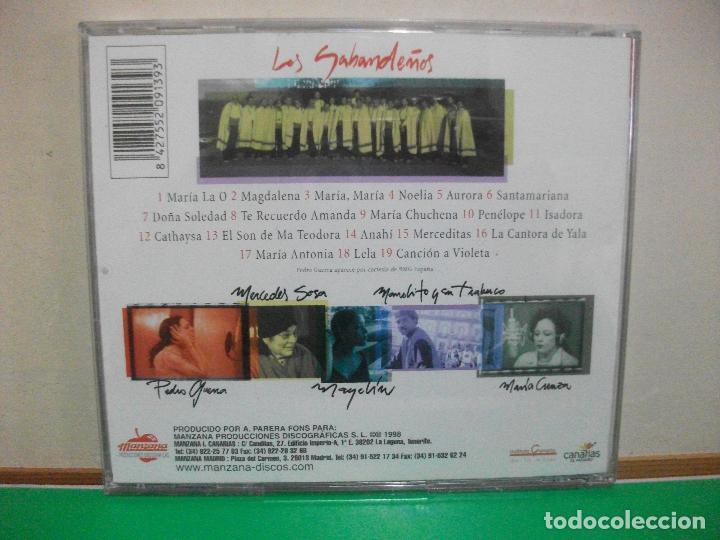 CDs de Música: LOS SABANDEÑOS - 19 NOMBRES DE MUJER - CD ALBUM - Foto 2 - 145968578