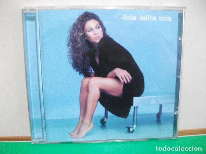 LOLA LOLITA LOLA CD ALBUM DEL AÑO 2001 CONTIENE 11 TEMAS DUO ARMANDO MANZANERO PEPETO (Música - CD's Flamenco, Canción española y Cuplé)