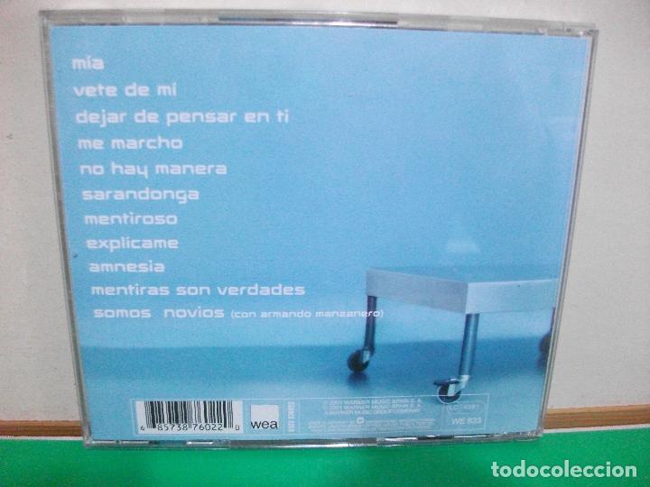 CDs de Música: LOLA LOLITA LOLA CD ALBUM DEL AÑO 2001 CONTIENE 11 TEMAS DUO ARMANDO MANZANERO PEPETO - Foto 2 - 145973666