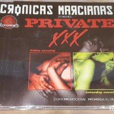 CDs de Música: CRÓNICAS MARCIANAS PRESENTE / PRIVATE XXX / CD-PROMO - CASAGRANDE / 5 TEMAS / LUJO.. Lote 145976402