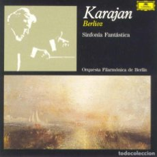 CDs de Música: HECTOR BERLIOZ / SINFONÍA FANTÁSTICA / KARAJAN. Lote 146000486