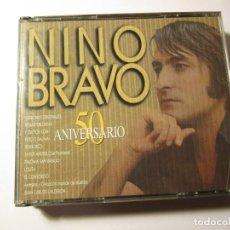 CDs de Música: DOBLE CD NINO BRAVO 50 ANIVERSARIO. Lote 234654725
