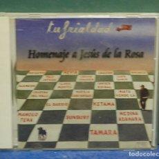CDs de Música: LMV - TU FRIALDAD. HOMENAJE A JESUS DE LA ROSA. CD. Lote 146003402