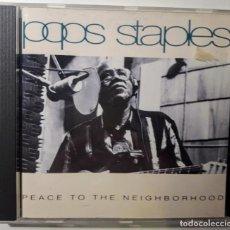 CDs de Música: CD POPS STAPLES - PEACE TO THE NEIGHBORHOOD . Lote 146076602