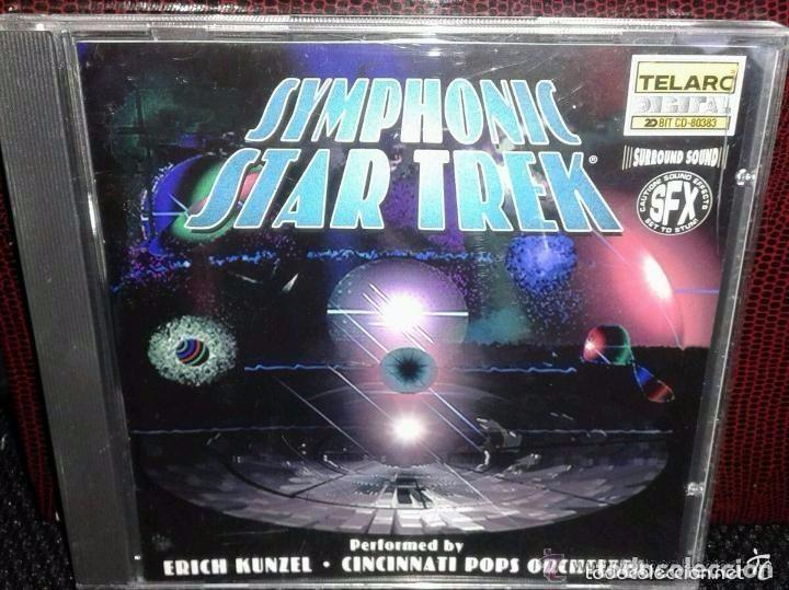 SYMPHONIC STAR TREK - MUSIC FROM THE MOTION PICTURES & TELEVISION SERIES *IMPECABLE* (Música - CD's Bandas Sonoras)