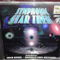 CDs de Música: SYMPHONIC STAR TREK - MUSIC FROM THE MOTION PICTURES & TELEVISION SERIES *IMPECABLE*. Lote 146077598