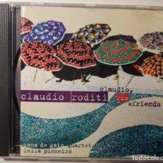 CDs de Música: CD CLAUDIO RODITI - CLAUDIO RIO & FRIENDS. Lote 146078046
