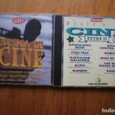 CDs de Música: 2 CD DE MUSCA DE PELICULAS. Lote 146112134