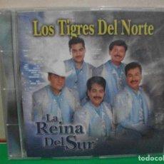CDs de Música: LOS TIGRES DEL NORTE. LA REINA DEL SUR. CD ALBUM NUEVO¡¡ PEPETO. Lote 146115366