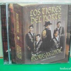 CDs de Música: LOS TIGRES DEL NORTE HISTORIAS QUE CONTAR CD ALBUM NUEVO¡¡ PEPETO. Lote 146115590
