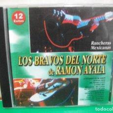 CDs de Música: LOS BRAVOS DEL NORTE DE RAMON AYALA CD ALBUM NUEVO¡¡ PEPETO. Lote 146118190