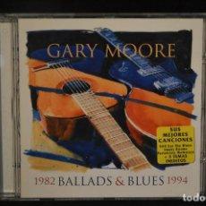 CDs de Música: GARY MOORE - BALLADS & BLUES - 1982 - 1994 - CD. Lote 146147654