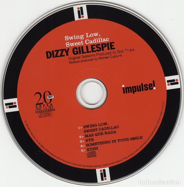 CDs de Música: Dizzy Gillespie. Swing Low Sweet Cadillac. Impulse 1996 - Foto 3 - 146195890