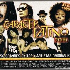 CDs de Música: CARACTER LATINO 2006 ( 3 CD + 1 DVD). Lote 146211594