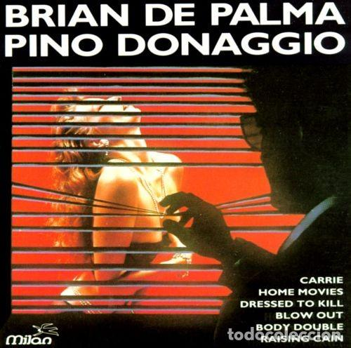 CD RECOPILATORIO BRIAN DE PALMA/PINO DONAGGIO, MUY BUEN ESTADO, DESCATALOGADO¡ (Música - CD's Bandas Sonoras)