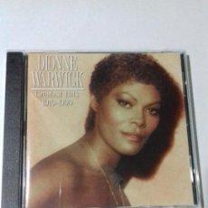 CDs de Música: DIONE WARWICK. GREATEST HITS. EN PERFECTO ESTADO.. Lote 146321162