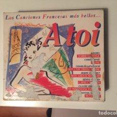 CDs de Música: A TOI - LAS CANCIONES FRANCESAS MÁS BELLAS. Lote 146348718