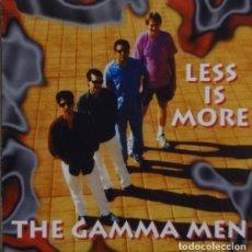 CDs de Música: GAMMA MEN - LESS IS MORE. Lote 146366234