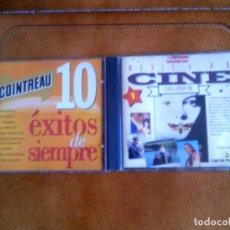CDs de Música: LOTE DE 2 CDS BANDAS SONORAS DE CINE . Lote 146388574