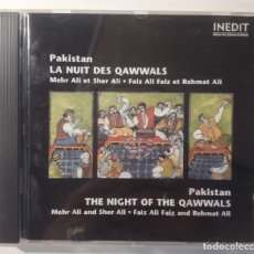 CDs de Música: CD PAKISTAN - LA NUIT DES QAWWALS. Lote 146393238