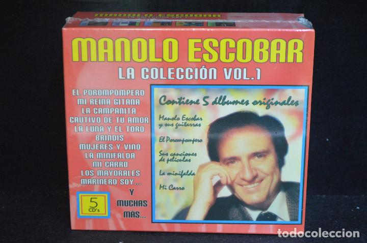 CDs de Música: MANOLO ESCOBAR - LA COLECION VOL.1 - 5 CD - Foto 1 - 146429038