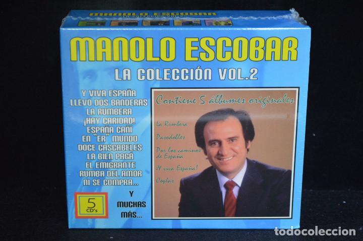 MANOLO ESCOBAR - LA COLECION VOL.2 - 5 CD (Música - CD's Flamenco, Canción española y Cuplé)