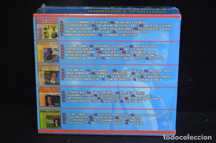 CDs de Música: MANOLO ESCOBAR - LA COLECION VOL.2 - 5 CD - Foto 2 - 146429094