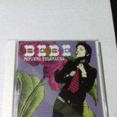 CDs de Música: BEBE. PAFUERA. TELARAÑAS. MEN SEÑARA. ELLA. CON MIS MANOS. REVOLVIO. MALO. EN PERFECTO ESTADO.. Lote 146443574