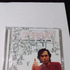 CDs de Música: SERRAT. CADA LOCO CON SU TEMA. . EN PERFECTO ESTADO.. Lote 146444330