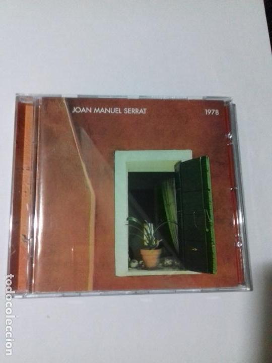 JOAN MANUEL SERRAT. 1978. CIUDADANO. IRENE. LUNA DE DIA. TORDOS Y CARACOLES..... EN PERFECTO ESTADO. (Música - CD's Otros Estilos)