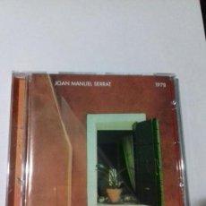 CDs de Música: JOAN MANUEL SERRAT. 1978. CIUDADANO. IRENE. LUNA DE DIA. TORDOS Y CARACOLES..... EN PERFECTO ESTADO.. Lote 146444522