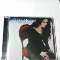 CDs de Música: CLARA MONTES. CANALLA PA BIEN. SOLO MIA. SOLEDAD. LA ESYRELLA........ EN PERFECTO ESTADO.. Lote 146444922