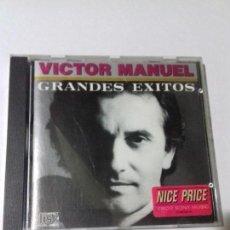 CDs de Música: VICTOR MANUEL. GRANDES EXITOS. SOLO PIENSO EN TI. TODO LO QUE AMO. EN PERFECTO ESTADO.. Lote 146447322