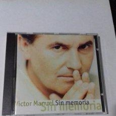 CDs de Música: VICTOR MANUEL. SIN MEMORIA. CANCION PEQUEÑA. CUATRO LATAS DE CERVEZA. VETE PENA. EN PERFECTO ESTADO.. Lote 146447454
