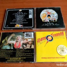 CDs de Música: QUEEN LOTE 2 CDS A DAY AT THE RACES / FLASH GORDON - EDICIONES ORIGINALES DIGITAL MASTER SERIES. Lote 146510742
