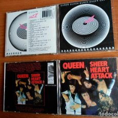 CDs de Música: QUEEN LOTE 2 CDS SHEER HEART ATTACK / JAZZ - EDICIONES ORIGINALES DIGITAL MASTER SERIES. Lote 146511634